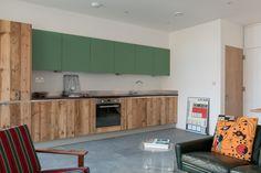 Kitchen, wood & green