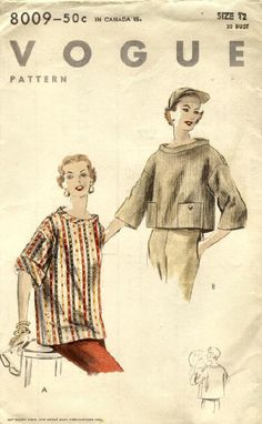 Vintage Elle: Vintage Sewing Patterns
