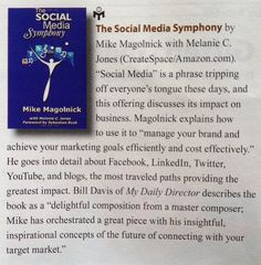'The Social Media Symphony' featured on Page 38 of Mensa Bulletin April/May 2012