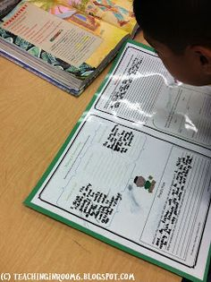 Comprehension Mats are an easy way to get the students responding to the stories they read.