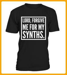 Lord forgive me for my Synths - Shirts für künstler (*Partner-Link)