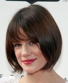 A Gallery of Short Brown Hair: From Pixies to Shags: Short, Brown Bob