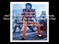 Thriller Karaoke Michael Jackson