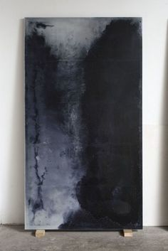 Alessandro Piangiamore, Le cere di Roma 2014 Love this painting! Abstract Canvas, Oil Painting On Canvas, Black Painting, Painting Abstract, Monochrome Painting, Black Abstract, Canvas Art, Painting Inspiration, Art Inspo