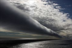 A cloud roll along the east coast of South Africa. Picture: Nicholas Wren of Crosskeys, South Wales