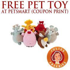 Free Pet Toy at Petsmart (printable coupon)