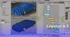 Legolize 0.2 by Ed Schiffer. Legolize 0.2 is a particle system inside Softimage ICE, created as a hobby. List of features ::