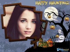 Happy Halloween Wishes to Your Friends http://photomica.com/cards/Happy_Halloween_Card_Online.php