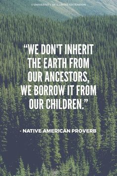 we don't inherit the earth from our ancestors - Ecosia