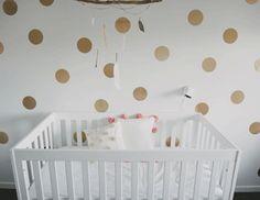 Metallic Polka Dots Nursery