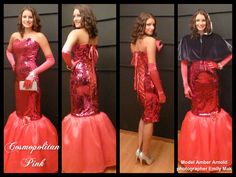 Cosmopolitan pink Pink Martini, Cosmopolitan, My Design, One Shoulder, Formal Dresses, My Style, Red, Collection, Fashion