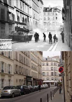 It's amazing to think that brutal battles could have been fought on such a peaceful street (Rue de Fleurus).