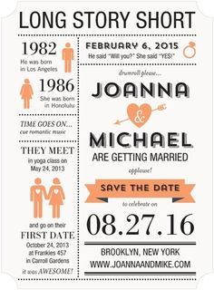 Infographic save the date