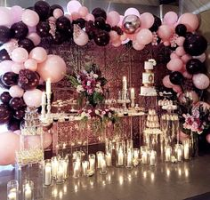 simple first birthday party Balloon Garland, Balloon Decorations, Birthday Decorations, Baby Shower Decorations, Wedding Decorations, Ballon Backdrop, 21st Decorations, Birthday Bash, Birthday Parties