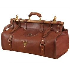 Littleton No. 3 Overnight Duffel Bag brown Colonel L. Leather Pouch, Leather Purses, Leather Backpack, Leather Handbags, Leather Briefcase, Tan Leather, Gladstone Bag, Suitcase Bag, Le Far West