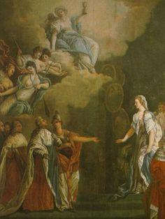 Alegoria del Matrimonio de Luis XVI y María Antonieta