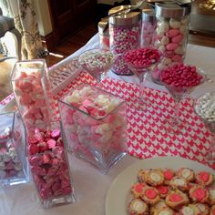 Candy bar for Baby Girl shower!