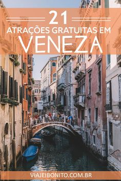 21 coisas extraordinárias para fazer de graça em Veneza, Itália #veneza #italia #europa #viagem #dicas #ferias Places Around The World, Around The Worlds, Places To Travel, Places To Go, Best Of Italy, Europe Photos, Travel Abroad, Travel Tips, Beautiful Places To Visit