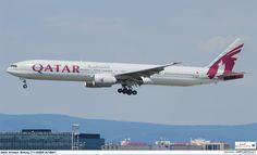 Qatar Airways Boeing 777-3DZER (A7-BAF)