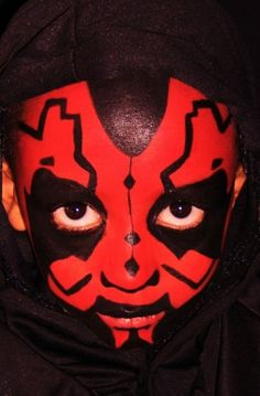 face paint ideas with Star Wars Theme