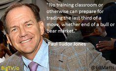 Paul Tudor Jones Teaching
