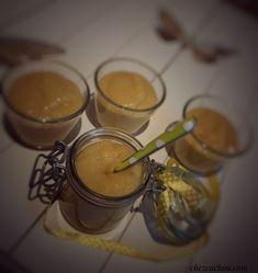 Verrines crème citron