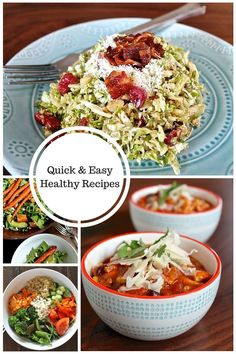 Quick and Easy Healthy Recipes
