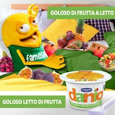 Oggi sono alla frutta!!!