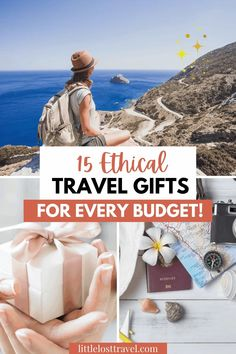 Do you have a travel lover in your life? Or perhaps you're filled with wanderlust too? If so, check out this guide to the best ethical and sustainable travel gifts that suit any budget. Whether yu're looking for stocking fillers or something more substantial, these gifts are unique, stylish and eco-friendly so that you can be sure that your travel lover's impact is a positive one wherever they go. #travelgifts #giftsforwomen