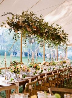 Ideas Backyard Wedding Decorations Centerpieces Table Settings For 2019 Wedding Decorations Pictures, Backyard Wedding Decorations, Wedding Reception Centerpieces, Wedding Table Settings, Wedding Tables, Tent Decorations, Decoration Pictures, Decor Ideas, Table Decoration