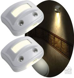 Pretty nifty...NightOwl Motion-Activated LED Lights - White - Rv Innovations 40702 - LED Lighting - Camping World