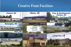Facilities are located in Michigan, Ohio, Tennessee, Indiana, Colorado and Florida.