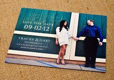 vintage wedding save the date tracee lorenzana gary wyer