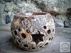 aromalampa - hvězdička Essential Oils, Candle Holders, Vase, Candles, Decor, Bricolage, Clay, Decoration, Porta Velas