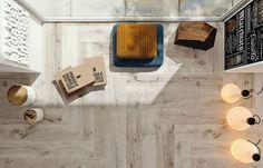 Wood grain ceramic tiles (Flaviker-Dakota-wood-tile-2)