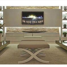 Blog Home Luxo | Katia Lopes: Inspiração para painel de tv! ✨🙌🏼 #olioliteam #interiores #inspiration #interiordesign ...