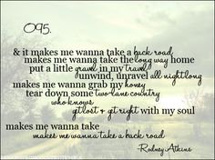 back road lyrics