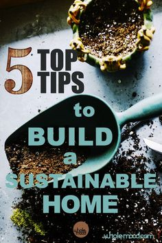 Build Your Sustainable Home: Great Ideas That Will Help Your Home Help You! Sustainable Design, Sustainable Living, Realtor License, New Construction, Sustainability, Building A House, Zero Waste, Ideas, Sustainable Development