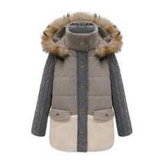 Knit Long Sleeves Furry Hooded Grey Coat #pariscoming your personal style online store. #outfit #stylist #Styling #streetstyle #fashionblog #fashiondiaries #fashiondiary #WearIt #WhatYouWear like it? buy now.
