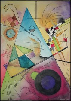 Kandinsky: later years at the Bauhaus. The Bauhaus was also influenced by the Russian Deconstructionists of the early 20th century