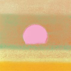 Andy Warhol - Sunset, 1972.