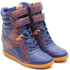 """Reebok """"Alicia Keys Blue"""" sneakers. AMAZING!!!!! Want."""