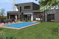 Atelier scenario architectes maison contemporaine à toit en