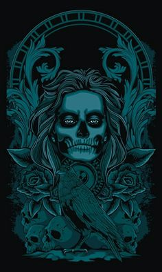 goddess of death..she who awaits thee acorss the bridge of sighs...