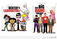 Dexter's Laboratory or The Big Bang Theory?