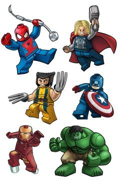 free kid superhero clipart lego - Google Search