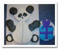 Panda cake using cupcakes. Do I dare?