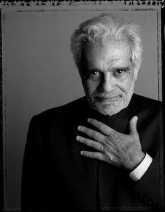 Omar Sharif by Claudio Porcarelli | Beautiful Faces, Beautiful People ...