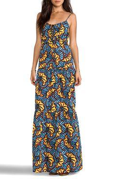 Une robe africaine