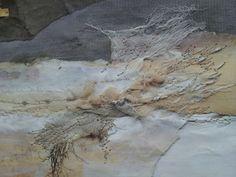 Drift - Laura Edgar #textile art # embroidery #collage www.lauraedgar.co.uk